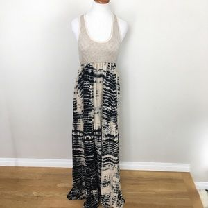 Anthro WOODLEIGH Eloise Maxi Dress Knit Top Sz S